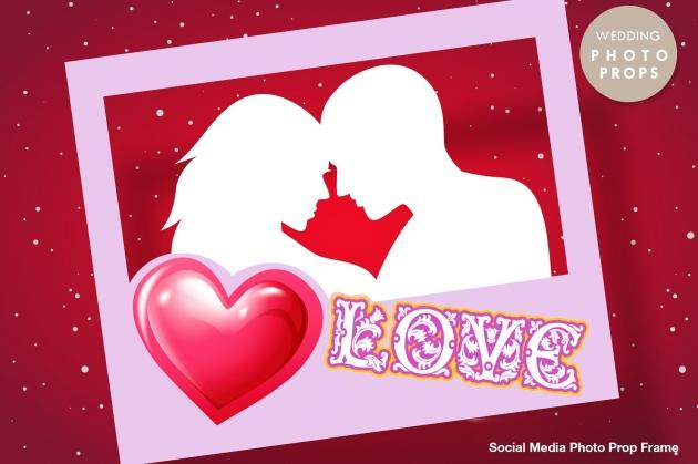 LOVE 拍照框 1