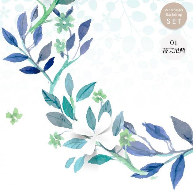 心繫一生的愛 婚禮背板套組(全) 5