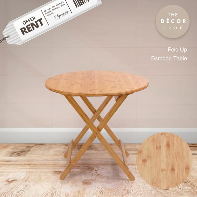 原木摺疊桌 1